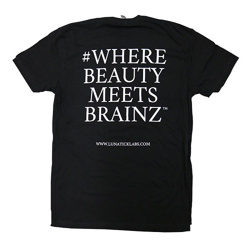 Where Beauty Meets Brains T Shirt